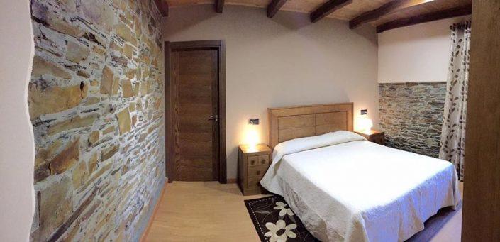 Dormitorio principal Apartamento Rural Quintana