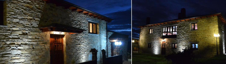 Noche en La Quintana de Zarauza